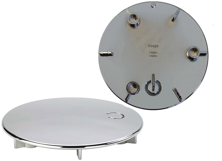 viega tempoplex ausstattungsset 115 mm fertigset abdeckung abdeckhaube 649982 ebay. Black Bedroom Furniture Sets. Home Design Ideas