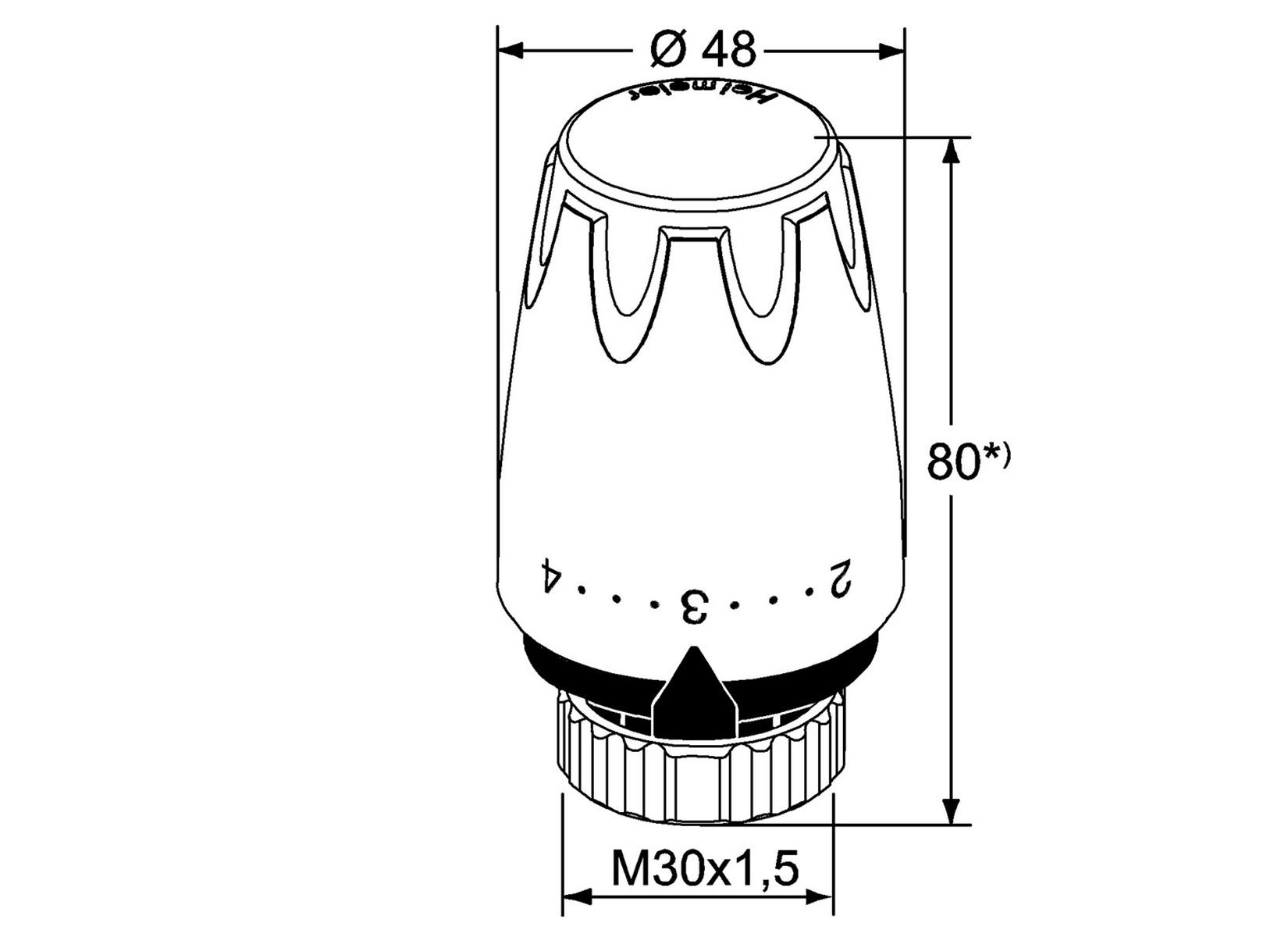 heimeier thermostatkopf dx weiss thermostatf u00fchler
