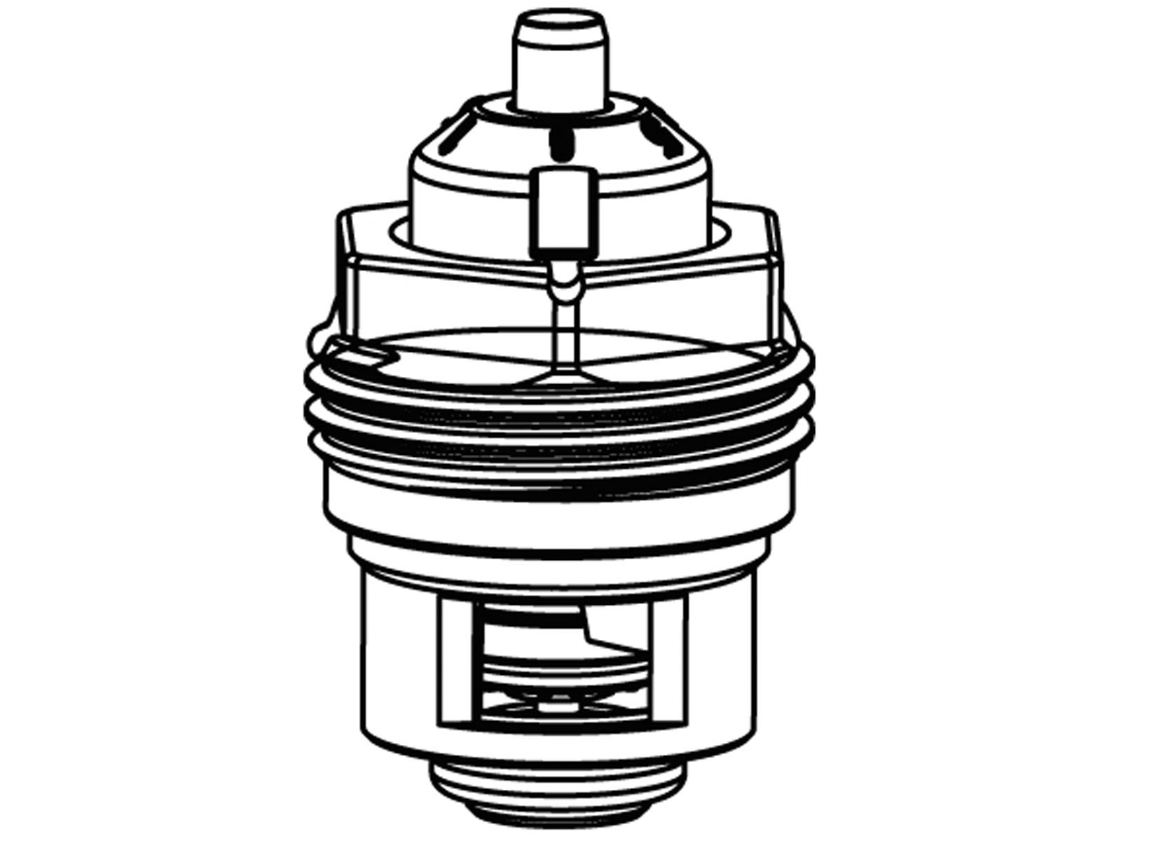 heimeier thermostatventil oberteil v exakt ii 3 8 1 2 3 4 ventileinsatz bis 2011 ebay. Black Bedroom Furniture Sets. Home Design Ideas