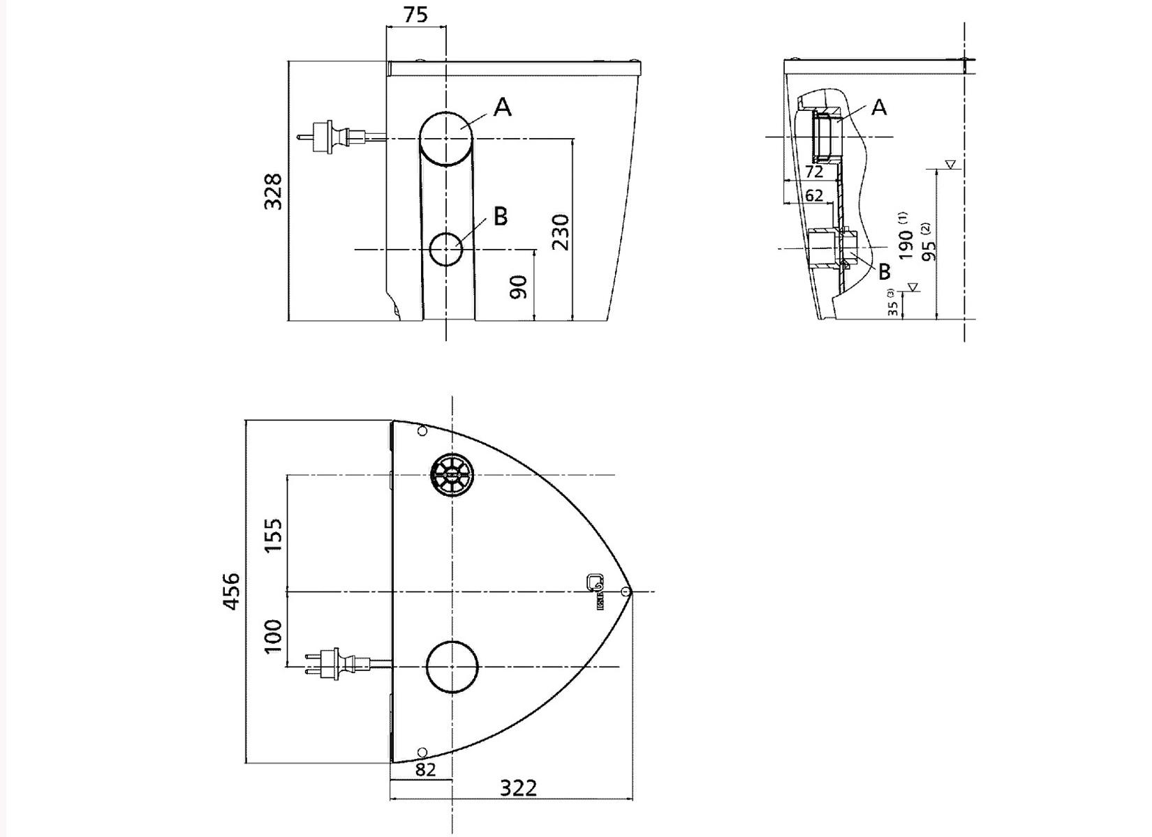 Bevorzugt KSB Ama Drainer Box Mini Hebeanlage Abwasserhebeanlage NZ15