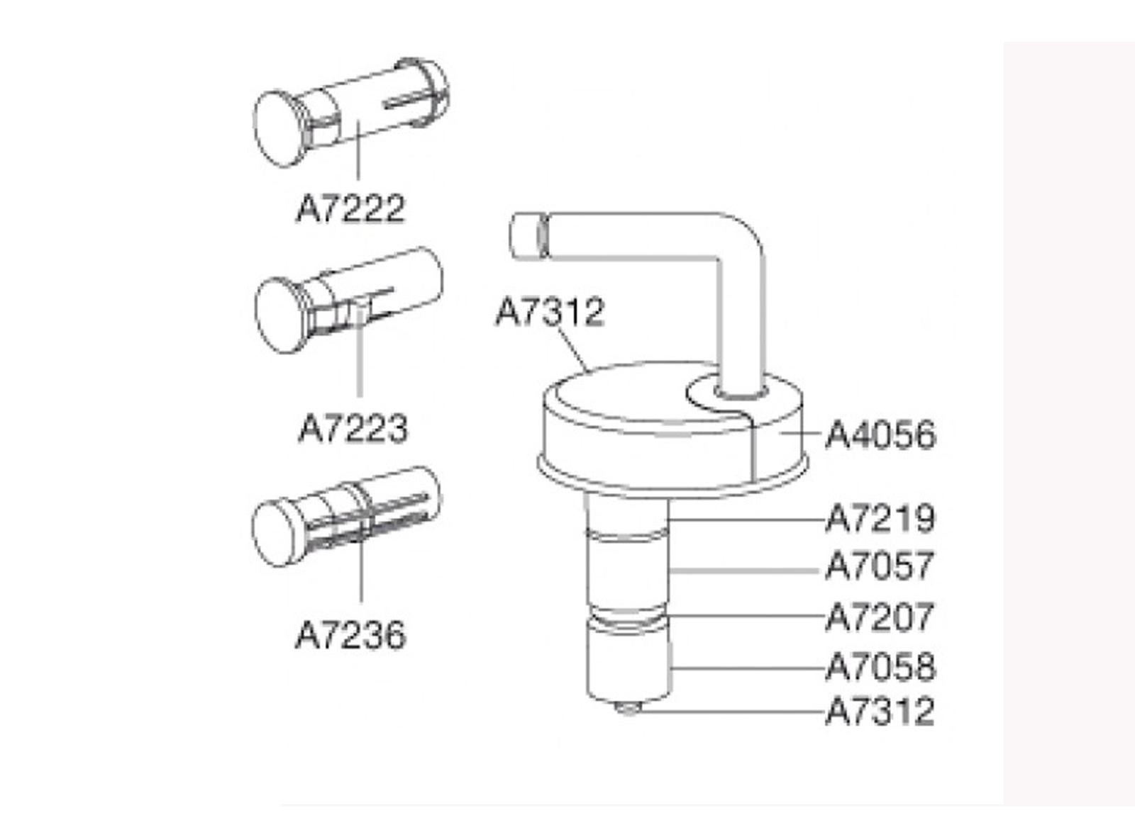 pressalit scharniersatz wc sitz d43 b16 formular colani. Black Bedroom Furniture Sets. Home Design Ideas